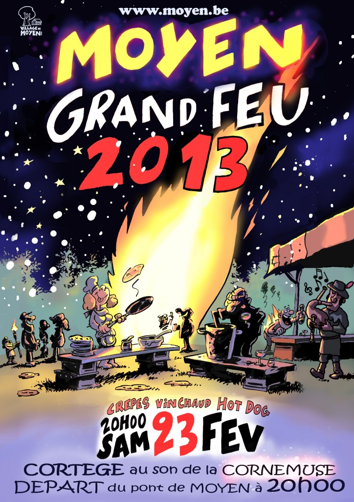 Affiche Grand Feu 2013